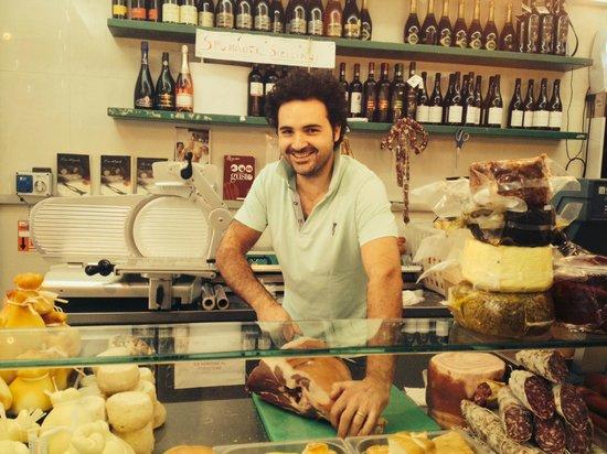 Caseificio Borderi: Glad og imødekommende!
