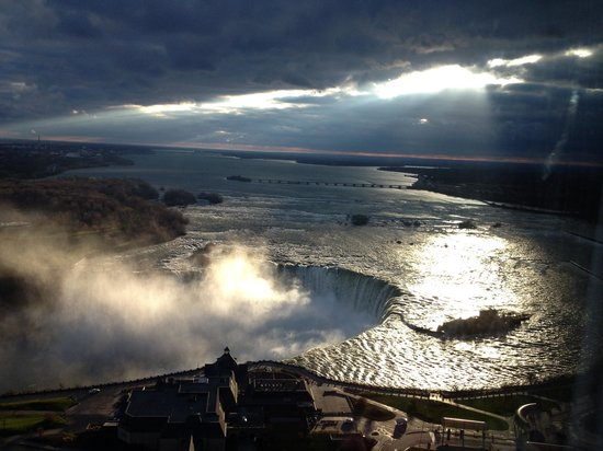 Embassy Suites by Hilton Niagara Falls Fallsview Hotel : Great view from room