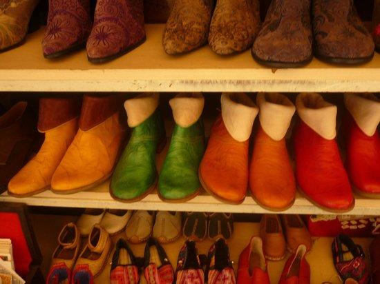 La Tulip Art Gallery: les chaussures qu ils fabriquent