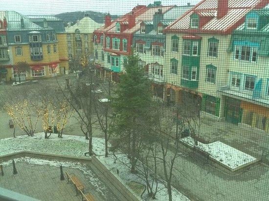 Homewood Suites Mont-Tremblant: view of Place Saint-Bernard