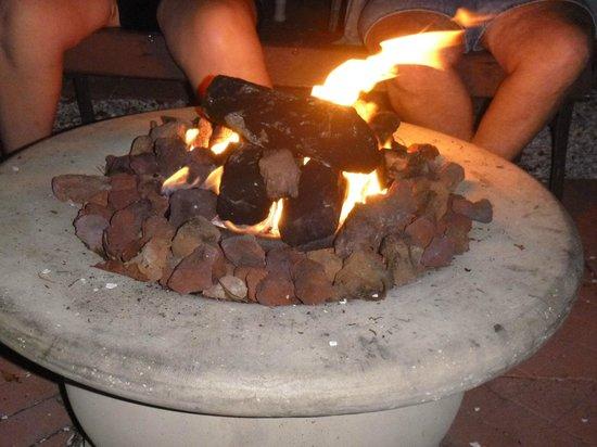 Sea Isle Motel: The Gas fire pit