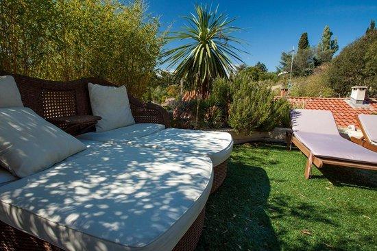 Les Terrasses De Castelnau B&B: Terrasse