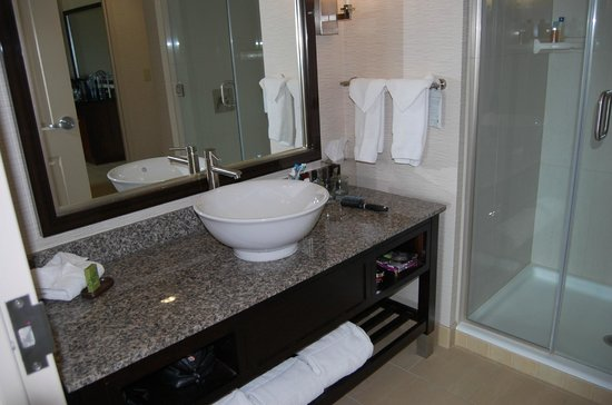 Embassy Suites by Hilton Ontario-Airport: Modern bathroom