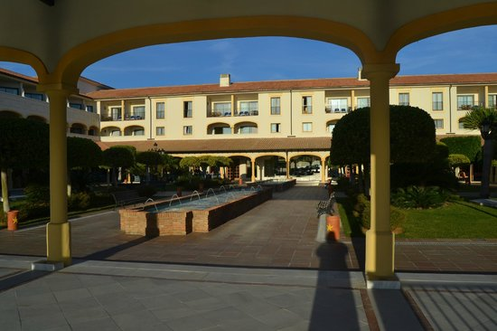Iberostar Andalucia Playa : Jardin