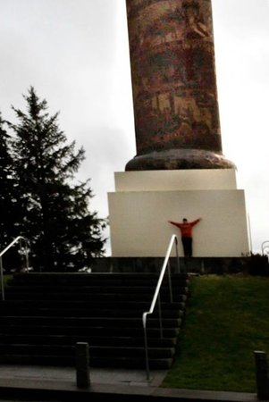 Astoria Column: MUCH larger than I thought it would be!