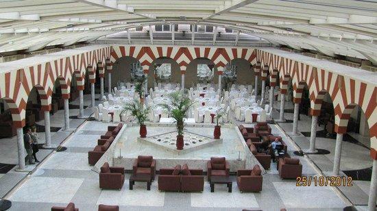 Silken Al-Andalus Palace Hotel : Atrio.