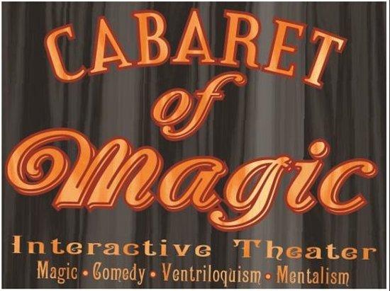 Cabaret of Magic Variety Arts Theater: Cabaret of Magic Interactive Theater Venice Florida