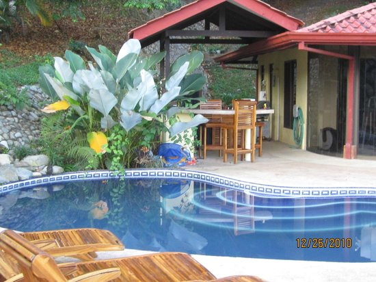 Blue Heaven Rendezvous Bed and Breakfast: Our pool is the perfect place to unwind and get ready for the next days journey