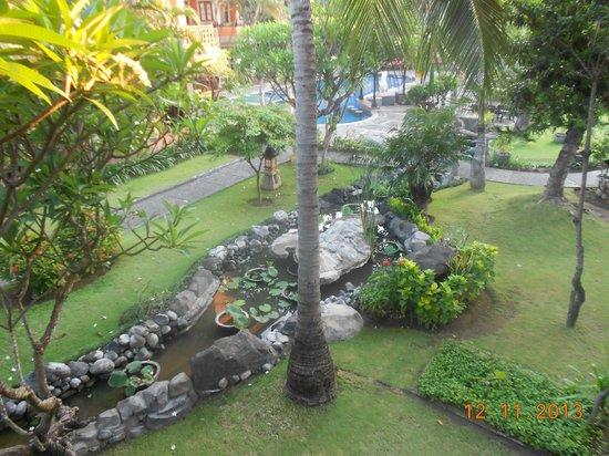 Adi Dharma Hotel: View from my balcony