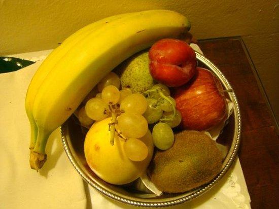Hotel Machiavelli Palace: fruit basket