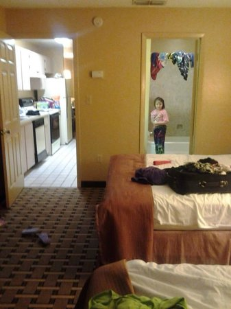 very comfy beds picture of howard johnson express inn. Black Bedroom Furniture Sets. Home Design Ideas