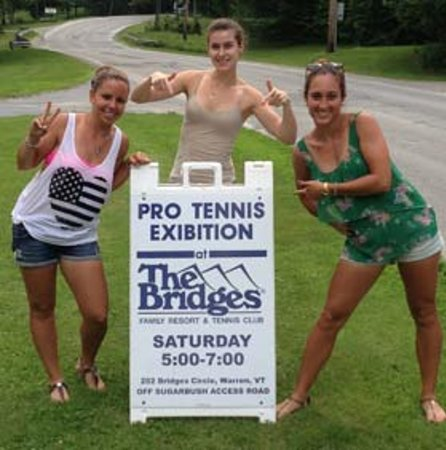The Bridges Family Resort & Tennis Club: Proud Tennis Pros!
