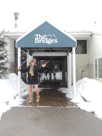 The Bridges Family Resort & Tennis Club: Tennis and Snow!