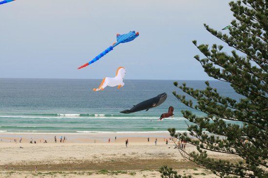 Kirra Beach: Brilliant Kites