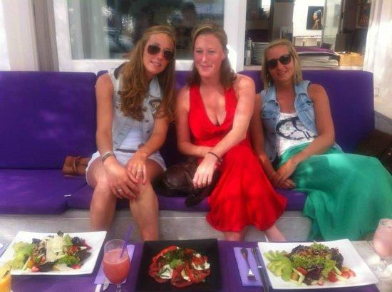 COMO Restaurant: Een heerlijke salade als lunch