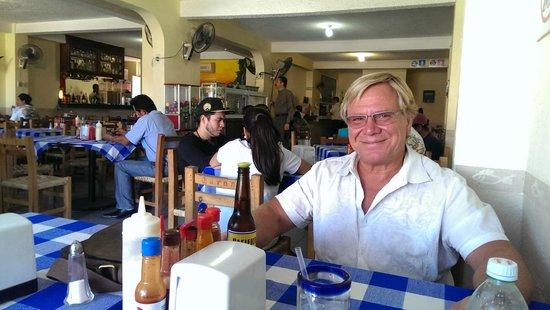 Taqueria Rossy: Inside the restaurant