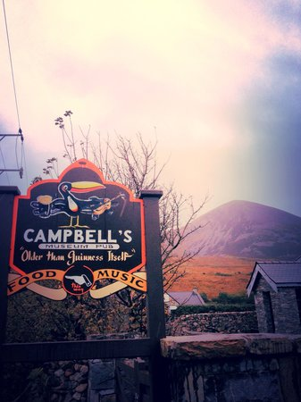 Campbell's At The Reek: Older than Guinness itself