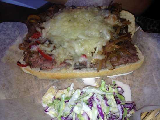 Cafe Carmen at the Tech Park: Philly cheese steak