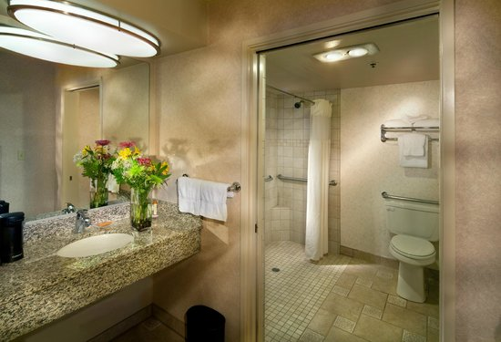 BEST WESTERN PLUS Inn at the Vines: ADA Bathroom
