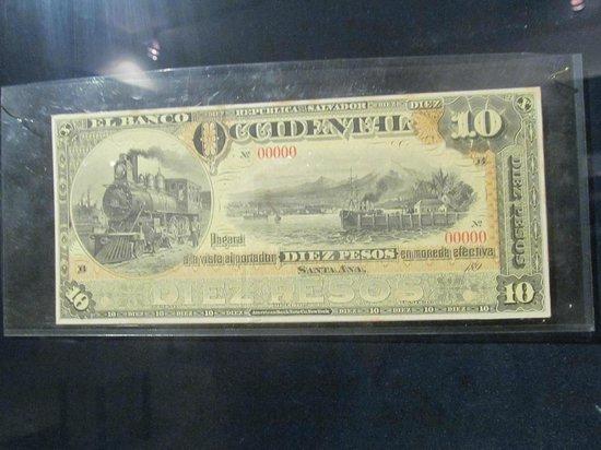 Santa Ana Cathedral: Museo de la moneda, unico lugar en El Salvador, que esta la historia de la moneda Salvadoreña.