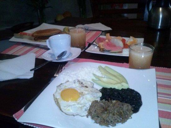 Posada Casa Sol: desayunos