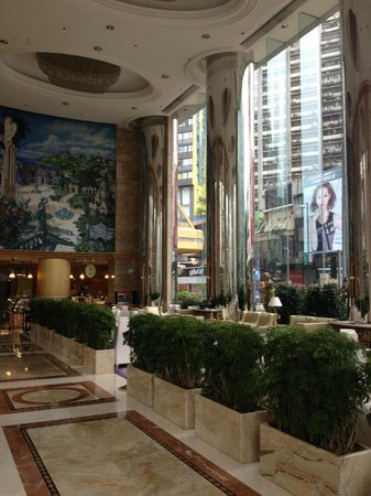 Regal Hongkong Hotel: Foyer ground floor