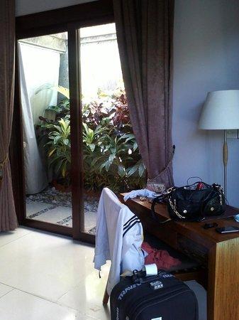 The Lokha Umalas Villas & Spa: view dr kamar
