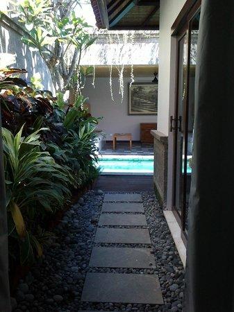 The Lokha Umalas Villas & Spa: pond