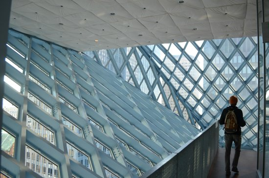 Seattle Public Library: top floor