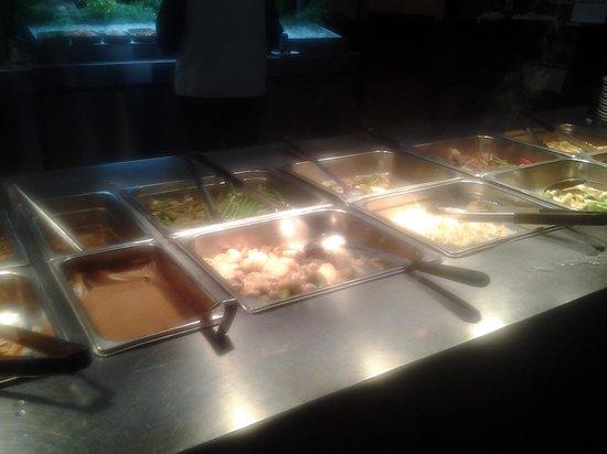 The salad bar picture of kings buffet sudbury tripadvisor for Asian cuisine sudbury