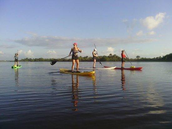 Flagler Beach, فلوريدا: Paddle on glass!