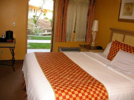 Catalina Canyon Resort & Spa: Room opens to patio and grounds