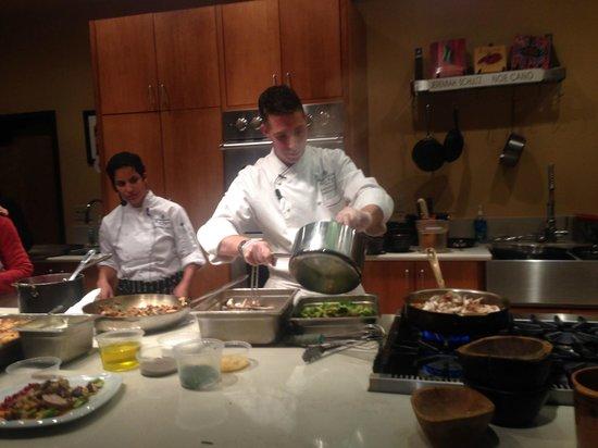 Santa Fe School of Cooking: Andrew Cooper, Executive Chef, Terra, Four Seasons Resort