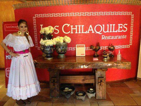 Los Chilaquiles Restaurante: Entrada del restaurante