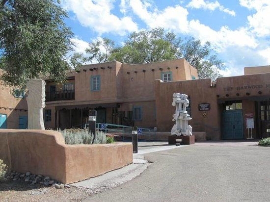 Harwood Museum of Art: Exterior of museum