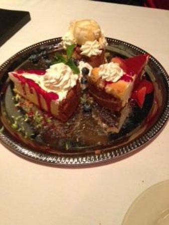 Sullivan's Steakhouse - Raleigh: Great Dessert