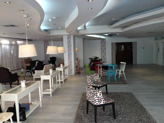 Park Hotel Netanya : hotel lobby