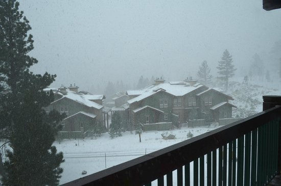 Juniper Springs Resort : view from balcony