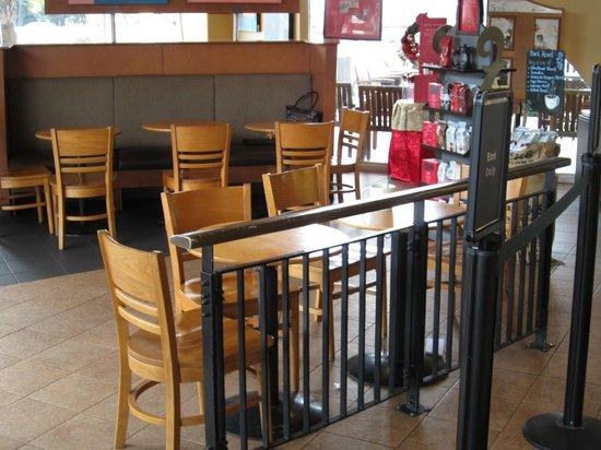 Starbucks: inside store