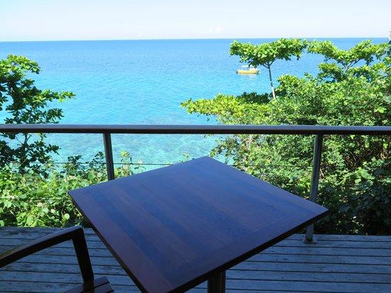 Royal Davui Island Resort: Our balcony