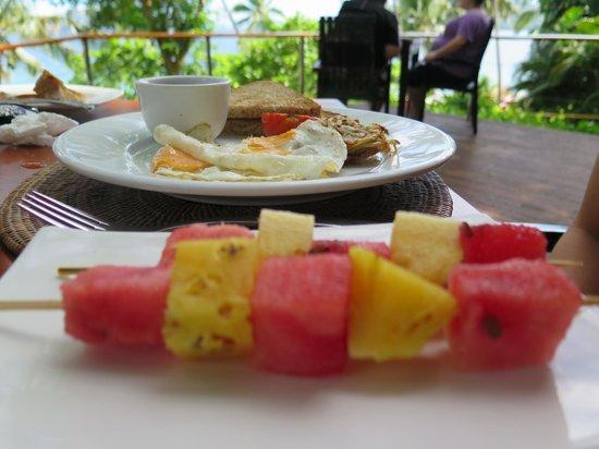Royal Davui Island Resort: Breakfast