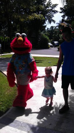 Beaches Negril Resort & Spa: Elmo!