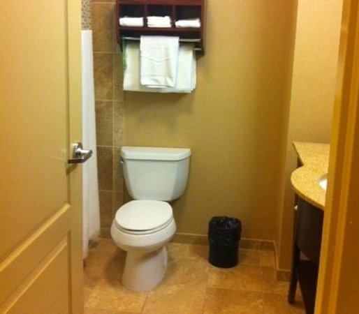 Hampton Inn Elkhorn: Huge bathroom