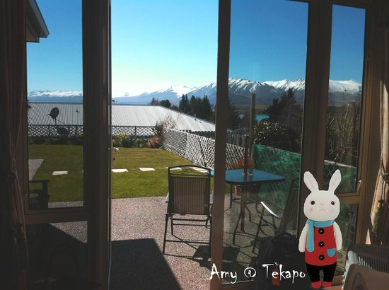 Tekapo Heights: The view from my room