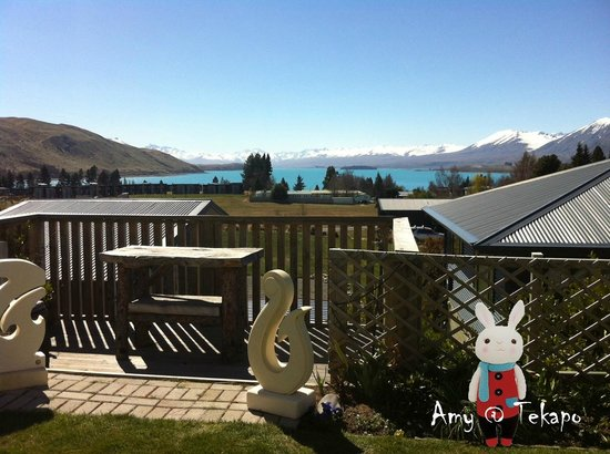 Tekapo Heights: Stunny View in the yard
