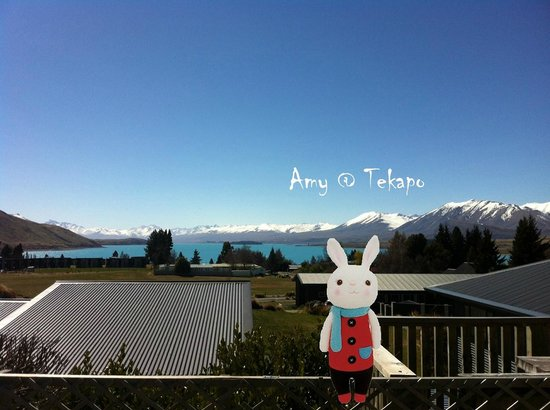 Tekapo Heights: The stunning view in the garden