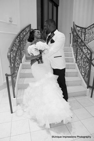 The Skirvin Hilton Oklahoma City: Wedding dip