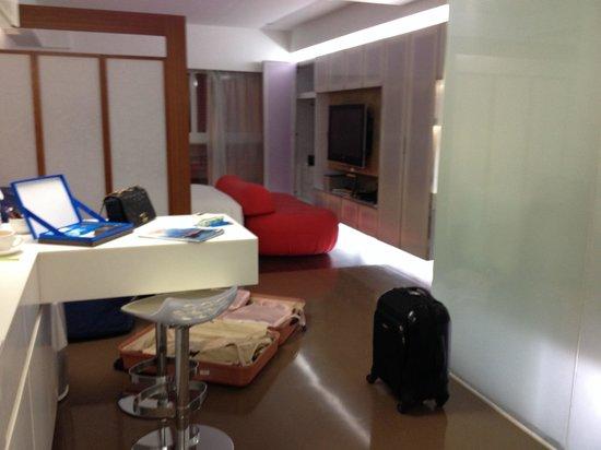 V灣仔服務式住宅: Room