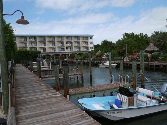 Ocean Pointe Suites at Key Largo: Dock Area