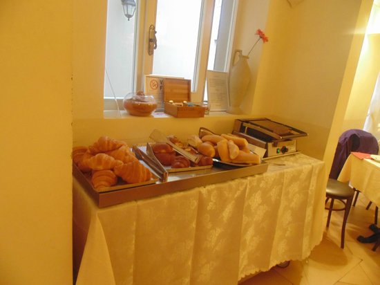 Hotel California Florence: The buffet breakfast